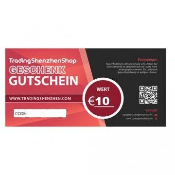 10€ voucher - TradingShenzhen - TradingShenzhen.com