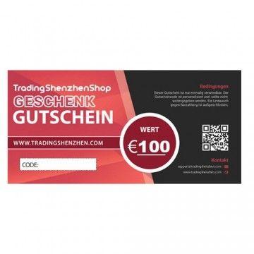 100€ voucher - TradingShenzhen - TradingShenzhen.com