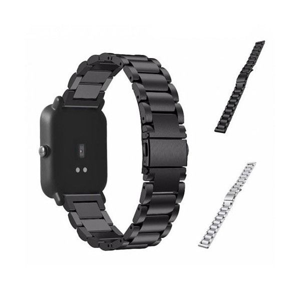 Xiaomi Amazfit Bip Replacement Strap Stainless Steel 20 mm - Fitness Tracker