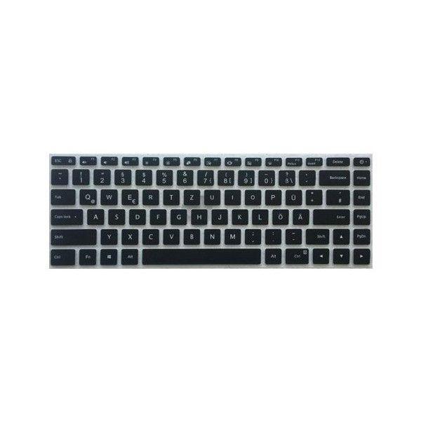 deutsche silikon tastatur abdeckung f r das mi pro 15 6 zoll. Black Bedroom Furniture Sets. Home Design Ideas