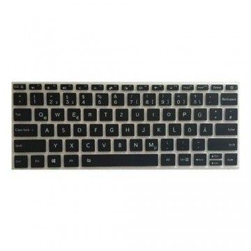 Deutsche Silikon Tastatur Abdeckung Mi Air 12.5 Zoll - Mi Air 12.5 Zoll
