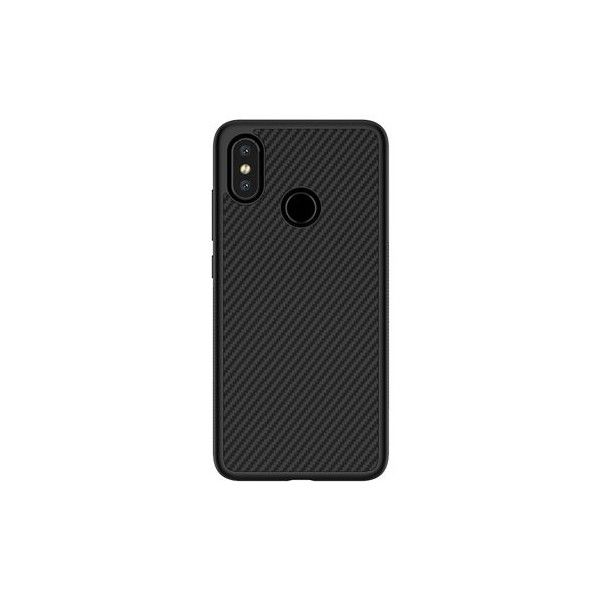 Xiaomi Mi8 Synthetic Fiber Case - Flipcover & Bumper