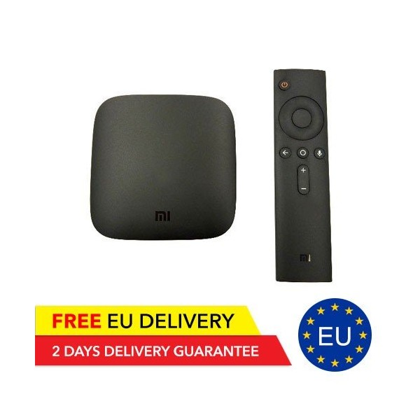 Xiaomi 4K Mi TV Box - Global - EU Device - Xiaomi | Tradingshenzhen.com