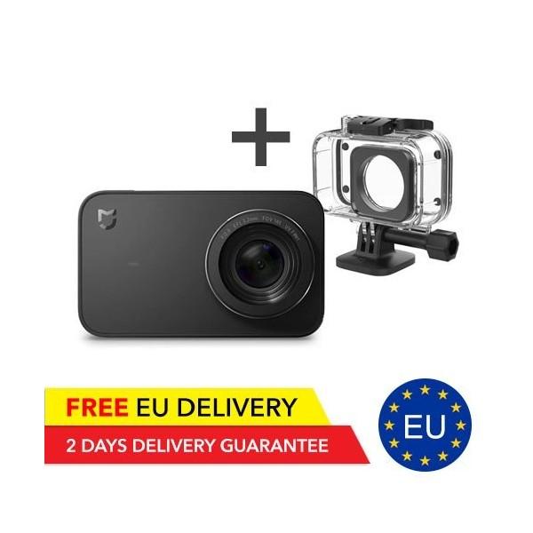 Xiaomi MiJia Mini 4K Action Camera + Unterwater Case - GLOBAL - MiJia | Tradingshenzhen.com