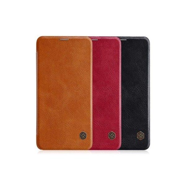 OnePlus 6 Leather Flipcover *Nillkin* - Nillkin | Tradingshenzhen.com