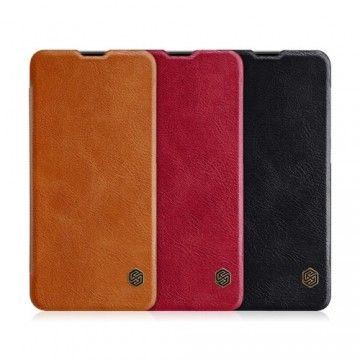 OnePlus 6T Leather Flipcover *Nillkin*