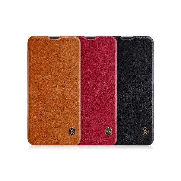 OnePlus 6T Leather Flipcover *Nillkin* - Nillkin | Tradingshenzhen.com