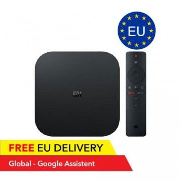 Xiaomi Mi Box S - 4K Stream - Google Assistant
