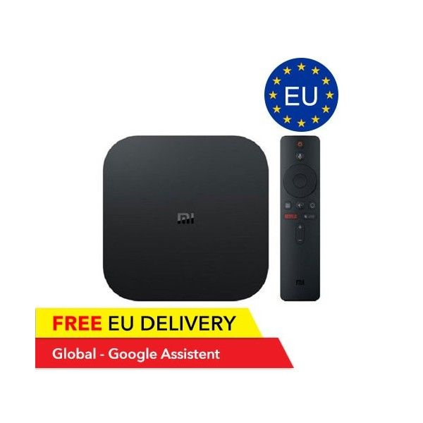 xiaomi mi box s 4k 60 fps stream kaufen google assistant. Black Bedroom Furniture Sets. Home Design Ideas