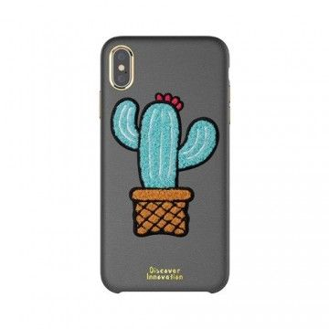 Apple iPhone XS MAX Plush Case Cactus * NILLKIN