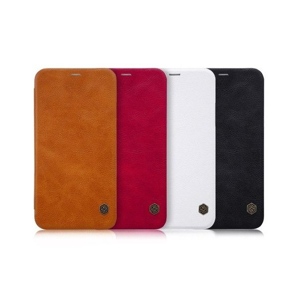 Apple iPhone XS / X Leder Flipcover *Nillkin* - Apple | Tradingshenzhen.com