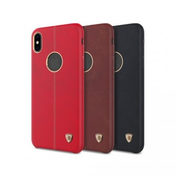 Apple iPhone XS / X Englon Leather Cover *Nillkin*