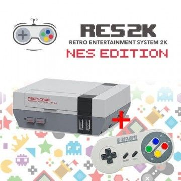RES2k - NES Version - incl. Retroflag USB Controller