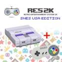RES2k - SNES USA Version - inkl. Retroflag USB Controller