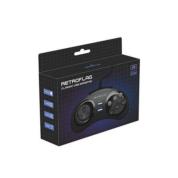 RES2k - MEGADRIVE Version - incl. Retroflag USB Controller - EU Warehouse - Res2k - TradingShenzhen.com