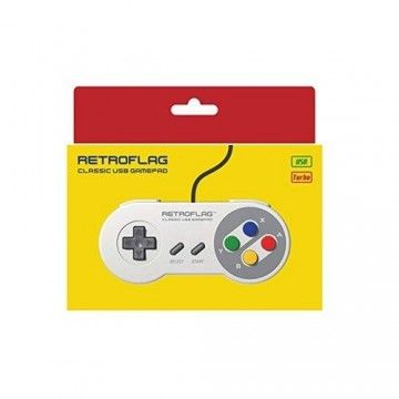 RES2k - SNES EU Version - incl. Retroflag USB Controller - EU Warehouse - Res2k - TradingShenzhen.com