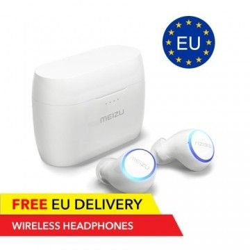 Meizu Pop 1 - Wireless headphones incl. charging cradle