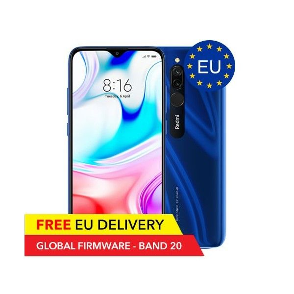 Xiaomi Redmi 8 - 4GB/64GB - GLOBAL - EU Gerät - Xiaomi | Tradingshenzhen.com