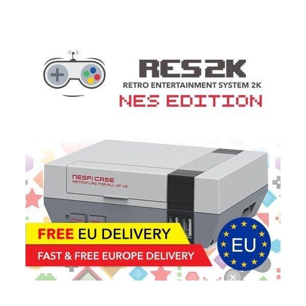 RES2k - NES Version - incl. Retroflag USB Controller - EU Delivery - Res2k | Tradingshenzhen.com