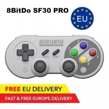 8BitDo SF30 Pro Controller - Bluetooth - GLOBAL