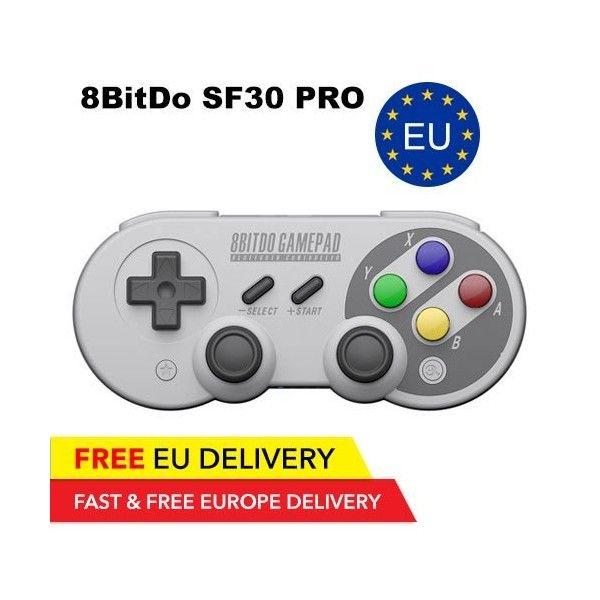 8BitDo SF30 Pro Controller - Bluetooth - GLOBAL - 8BitDo | Tradingshenzhen.com