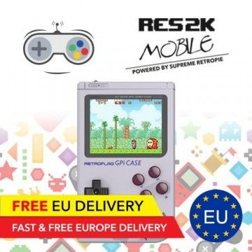 RES2k Mobile - Mobile Retro Console - EU Warehouse