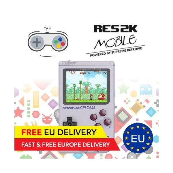 RES2k Mobile - Mobile Retro Console - EU Warehouse - Res2k - TradingShenzhen.com