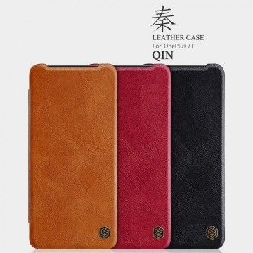 OnePlus 7t Pro Qin Leather Flipcover *Nillkin*