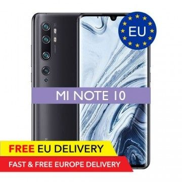 Xiaomi Mi Note 10 - 6GB/128GB - 108 Megapixel - GLOBAL - EU Device