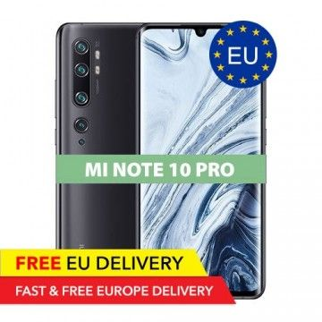 Xiaomi Mi Note 10 Pro - 8GB/256GB - 108 Megapixel - GLOBAL - EU Device