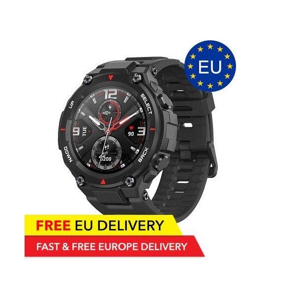 Amazfit T-Rex Smartwatch - Military standards - AMOLED - Dual GPS - Global - EU Warehouse - Xiaomi - TradingShenzhen.com