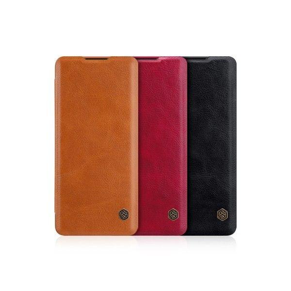 OnePlus 8 Qin Leather Flipcover *Nillkin* - Nillkin - TradingShenzhen.com