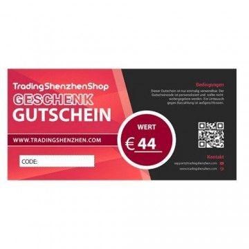 44€ Mitarbeiter-Benefit Gutschein - TradingShenzhen - TradingShenzhen.com