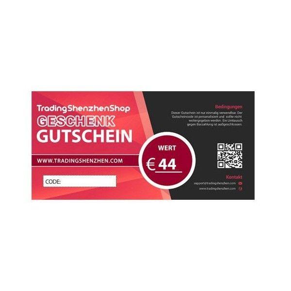 44€ Employee Benefit Voucher - TradingShenzhen | Tradingshenzhen.com