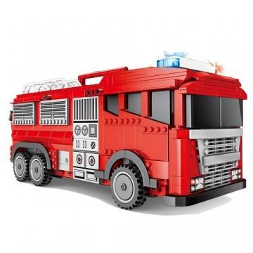 Sembo 603063 2-in-1 fire truck - 1547 parts - SEMBO - TradingShenzhen.com