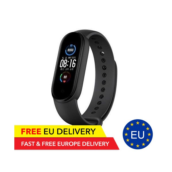 Xiaomi Mi Band 5 GLOBAL - 1.1 Inch Color Display - 11 Sportmodes - EU Warehouse - Xiaomi - TradingShenzhen.com