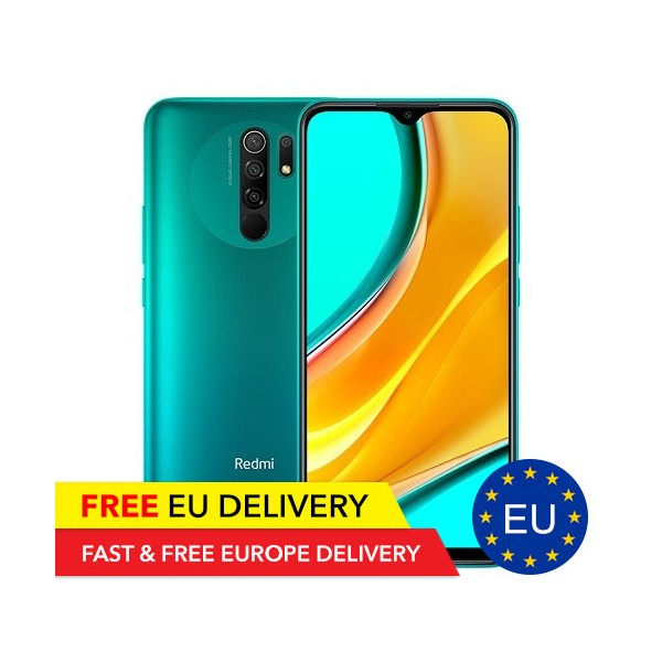 Redmi 9 - 4GB/64GB - MediaTek Helo G80 - GLOBAL - EU Lager - Xiaomi - TradingShenzhen.com