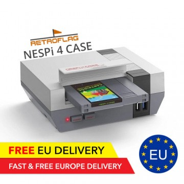 Retroflag NESPi 4 Case - HDMI - SSD Cardridge - Retrogflag - TradingShenzhen.com