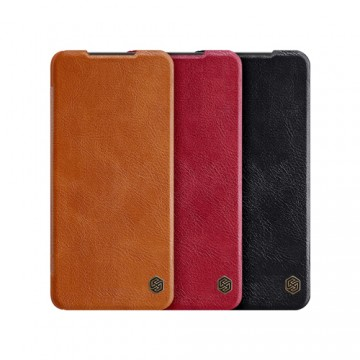 Xiaomi Poco X3 NFC Qin Leather Flipcover *Nillkin* - Nillkin - TradingShenzhen.com