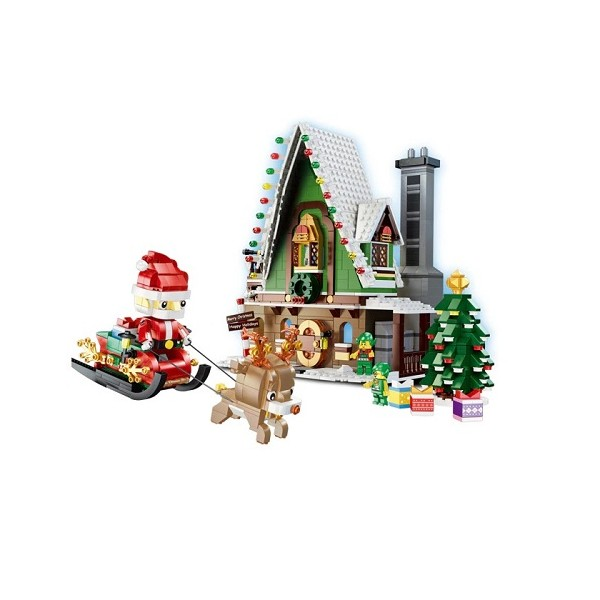 Qizhile 90012 Christmas House - 1452 Teile - Mould King - TradingShenzhen.com
