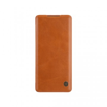 OnePlus 8T Qin Leather Flipcover *Nillkin* - Nillkin - TradingShenzhen.com