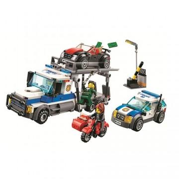 Bela Cities 10658 - 427 parts - 4 vehicles - 4 minifigures - DE WAREHOUSE - Mould King - TradingShenzhen.com