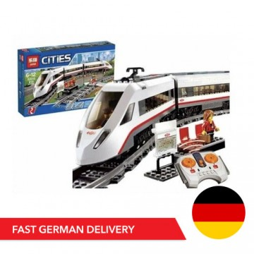 Cities 8012 High Speed Train - 628 Parts - Engine & RC - Mould King - TradingShenzhen.com