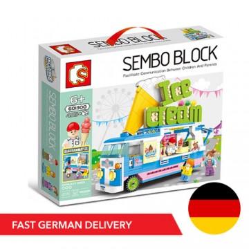 Sembo 601300 Ice Cream Wagen - 453 Bauteile - DE LAGER - SEMBO - TradingShenzhen.com