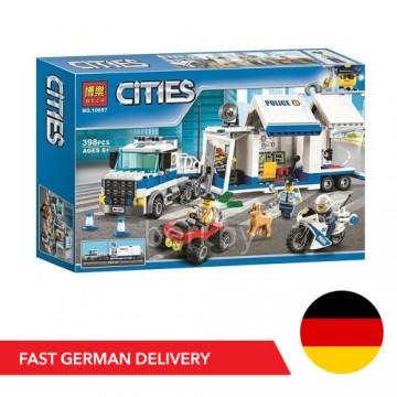 Bela Cities 10657 Mobile Einsatzzentrale - 398 Bausteine - DE LAGER - Bela Cities - TradingShenzhen.com