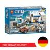 Bela Cities 10657 Mobile Operations Center - 398 bricks - DE WAREHOUSE