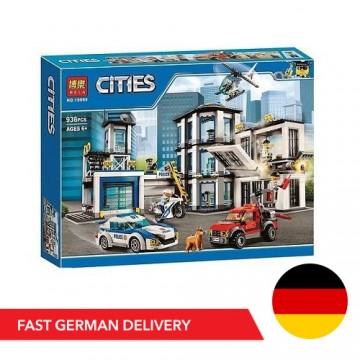 Bela Cities 10660 Polizeistation - 936 Bauteile - DE LAGER - Bela Cities - TradingShenzhen.com