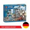 Bela Cities 10660 Police Station - 936 components - DE WAREHOUSE