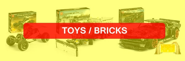 Toys and Bricks at TradingShenzhen