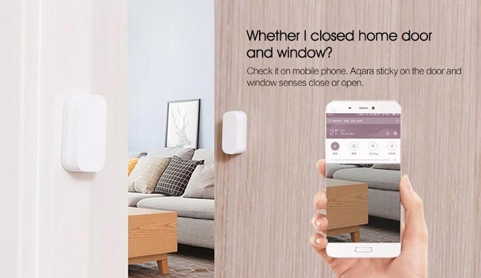 Aqara intelligent door and window sensor